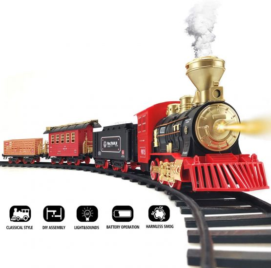 Electric Toy Train Set