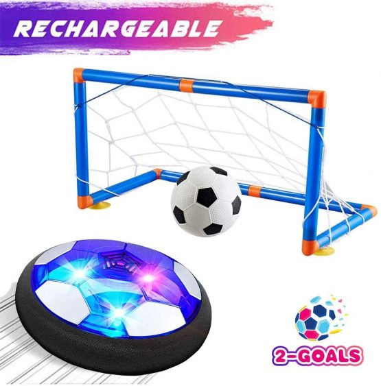 Rechargeable Air Hover Soccer Set Toy